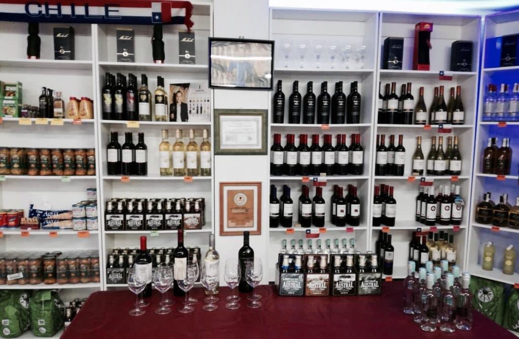 Tienda vino Palma